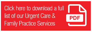 Urgent Care Services Pdf