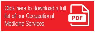 Occ Med Services Pdf